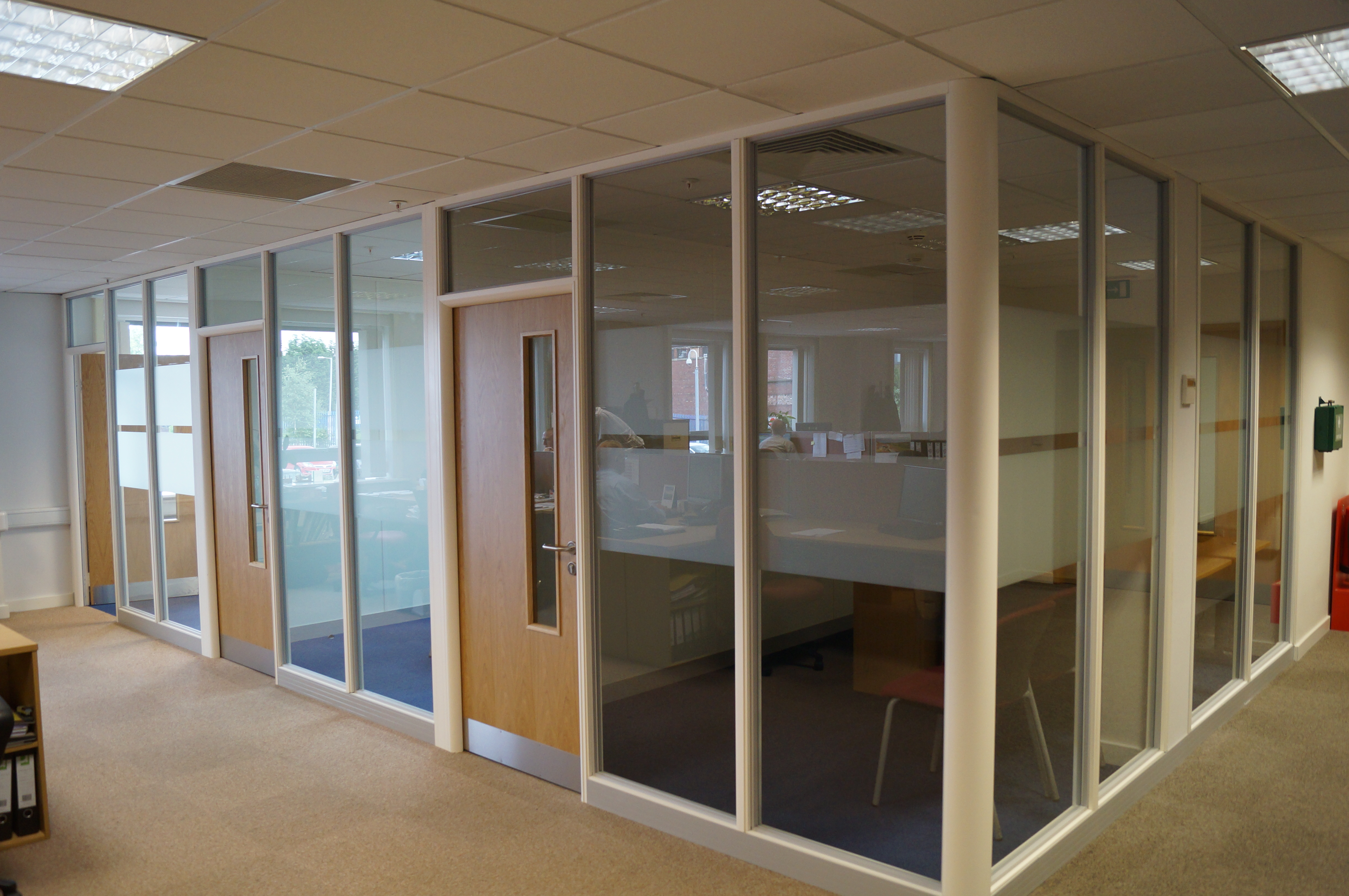 office fitting manchester four projects just completed or currently
